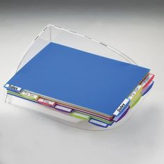 Most PO's say DON'T PILE, FILE! As a self-proclaimed right-brain thinker (read Lee Silber's Organize from the Right Side of the Brain) I PILE!!! BUT it doesn't have to be disorganized with this handy-dandy pile organizer that I'm ordering REAL SOON! :)