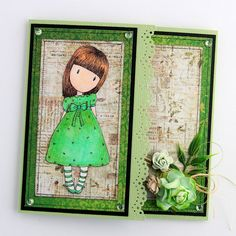 Deux cartes Gorjuss / Two Gorjuss cards