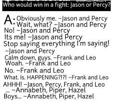Image result for jason grace and percy jackson
