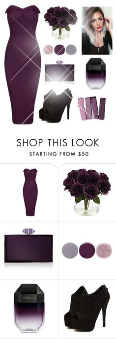 """#328"" by mildabas ❤ liked on Polyvore featuring Nearly Natural, Judith Leiber, Smith & Cult and STELLA McCARTNEY"