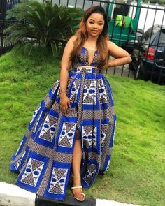 African Inspired Fashion, African Print Fashion, African Fashion Dresses, African Attire, African Wear, African Dress, Ankara Long Gown Styles, Trendy Ankara Styles, African Traditional Dresses