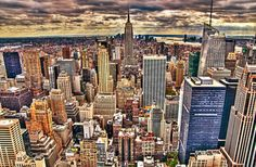 Sundown in New York by Sprengben