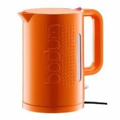 Bodum Bistro Large Electric Water Kettle, Orange (Kitchen)  http://postteenageliving.com/amazon.php?p=B00430744S
