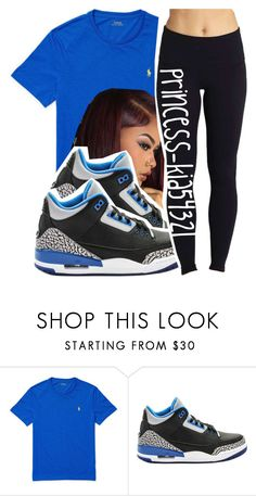 """""""*"""" by princess-kia54321 ❤ liked on Polyvore featuring Ralph Lauren, NIKE and Beyond Yoga"""