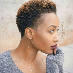 See 17 Hot Tapered Short Natural Hairstyles