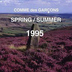 Campagne Comme des Garçons collection printemps-été 1995