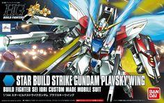 HGBF Star Build Strike Gundam Plavsky Wing Model Kit (1/144 Scale)