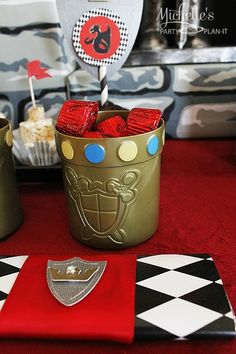 Favors at a Knight Party #knight #party