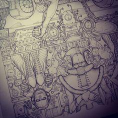 Ohm - Book Illustration snips on Behance