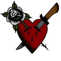 Colourful Tattoo Design With Love Tattoo Sketches, Tattoo Drawings, Love Tattoos, Small Tattoos, Black And Grey Rose Tattoo, Jumma Mubarak Beautiful Images, Knife Tattoo, Geometric Tattoo Arm, Color Tattoo