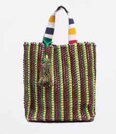 ZARA - NEW THIS WEEK - SHOPPING BAG