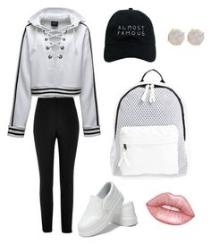 """🎾 hit that thang"" by vartan-tina on Polyvore featuring Puma, River Island, Poverty Flats, Nasaseasons and Melissa Joy Manning"