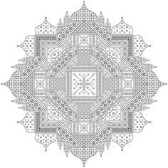 Chakra Blackwork Design от sebadesigns на Etsy