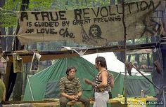 Bethel, New York:  Woodstock Festival. 1969