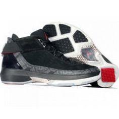 Air Jordan XX2 PE Black / metallic silver dark charcoal varsity Red 317141-002