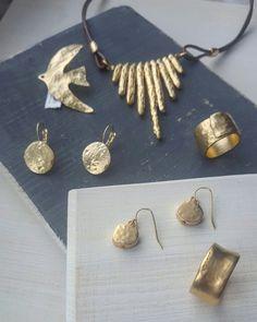 Jewelry, rings, gold, danon, earrings, necklace, handmade