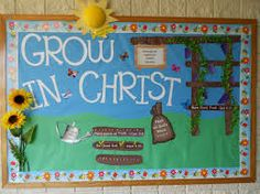 bulletin board ideas for spring - Google Search