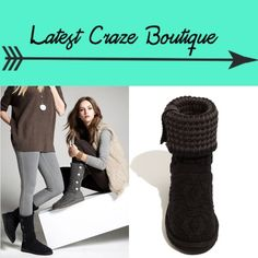 LAST CALL UGG Leland Boot •AVAILABLE UNTIL JUNE 1•       Black cardy on outside & black & grey on inside. Has buttons along outside as well. These are hard to find & sold out at a lot of places. I wore them once & are in great condition! UGG Shoes
