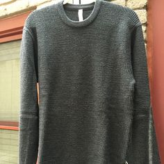 Men's Lululemon Merino Wool Carry-On Crew - Large Brand new with tags. Never worn. lululemon athletica Sweaters Crewneck