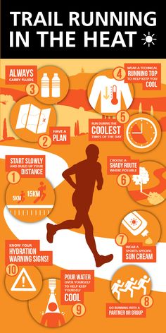 Tips for trail running in the heat