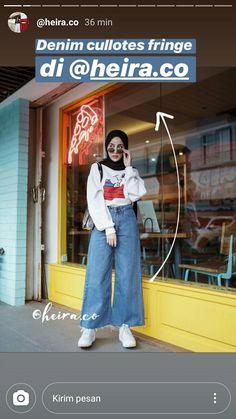 Modern Hijab Fashion, Street Hijab Fashion, Hijab Fashion Inspiration, Denim Fashion, Casual Hijab Outfit, Ootd Hijab, Casual Outfits, Jean Outfits, Cool Outfits