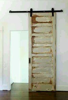 Old barn door has new purpose