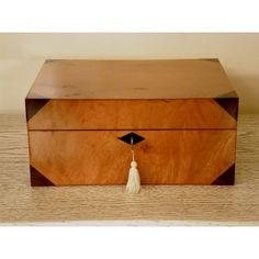 Joyero madera noble #Ambar #Muebles #Deco #Interiorismo #Outlet