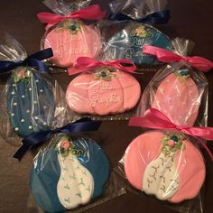 Little pumpkin baby shower - See more of our cookies at http://www.ctcookietreats.com
