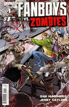 Fanboys vs Zombies #1 Cover C Khary Randolph: Find out as an unlikely band of nerds use their genre savvy to survive in Fanboys vs. Zombies!