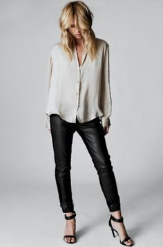 35eb159512 Love the leather pants with this. Elin Kling Guess Collaboration - Guess By  Marciano