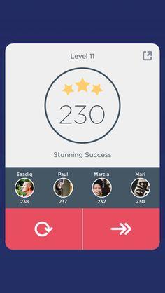 Conceito pra achievements (gamification) - compare seu progresso com seus amigos do FB