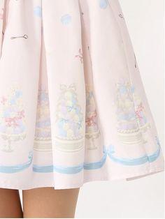 Ank Rouge (Ankh Rouge) | pastel macaroons waist ribbon SK