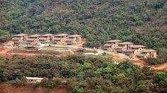 A long shot of the villas in #Lavasa