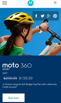 Motorola's Latest Deal Gets You A Free Moto 360 Sport, Costs $199 Alone
