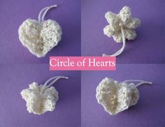 Wind Rose Fiber Studio: The 2012 Ornament Project ~ February- Circle of Hearts ornament