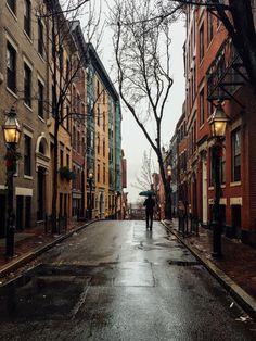 Rainy day... #Boston #cityscape #rain #holidays