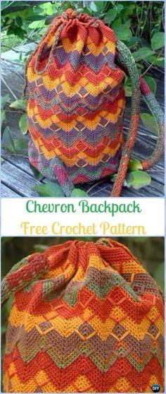 Crochet bag / back pack