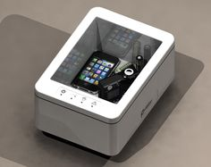 PoweredByProxi Wireless Charging Station...I really want this if you don't have to add bulky stuff to your devices to charge!