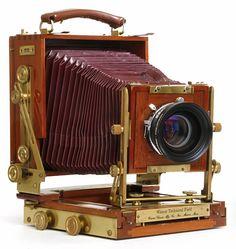 Wisner 4x5 inch technical field camera.