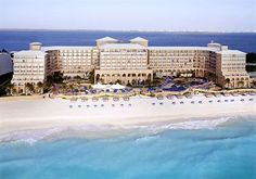 Ritz Carlton, Cancun, Mexico. Most luxurious hotel I've stayed in! - 1997
