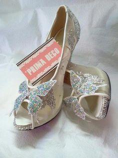 Flat cinderella shoes!