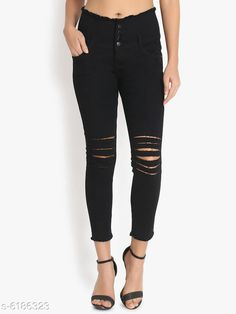 Jeans Fashionble Women's Denim  Jenas  Fabric: Denim Multipack: 1 Sizes: XXL (Waist Size: 34 in Length Size: 39 in) M (Waist Size: 28 in Length Size: 39 in) L (Waist Size: 30 in Length Size: 39 in) XL (Waist Size: 32 in Length Size: 39 in) Country of Origin: India Sizes Available: 28, 30, 32, 34   Catalog Rating: ★3.9 (486)  Catalog Name: Pretty Fashionable Women Jeans CatalogID_944409 C79-SC1032 Code: 005-6186323-8721