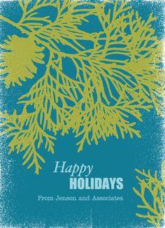 Pinetree Holidays Business Holiday Card