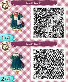 """Beyond the Rainbow"" QR Code #animalcrossing #acnl"