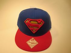 Superman Logo Hat Cap Snapback DC Comics Costume Logo Comics Trucker Hat #DCComics #BaseballCap