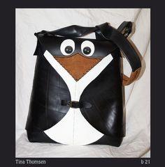 A penguin bag