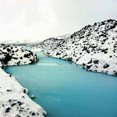 Blue lagoon, Reykjavik, Iceland land of Oreo cookies