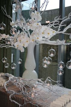 Candle bauble balls - how cool is that!  Parrish Designs  http://parrishdesignslondon.com/newSite/popUp.php?folder=events&image=15