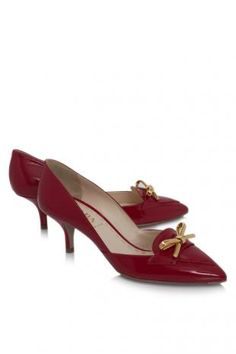 Prada Vernice Classic Calzature Donna  Price Sales : THB 22,718
