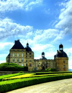 Chateau de Hautefort; used in Ever After movie